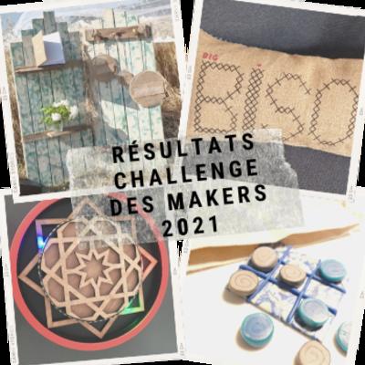 Résultats Challenge des Makers 2021 -picture