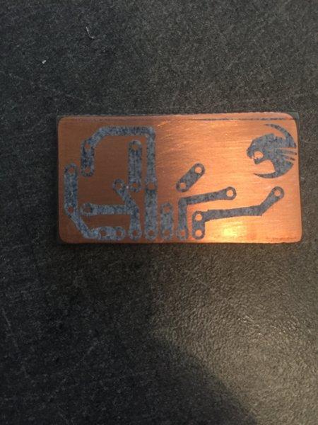 Circuit imprimé Maison- Transfére du typon : Transfère