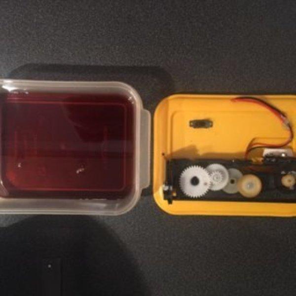 Circuit imprimé Maison- Transfére du typon : Gravure