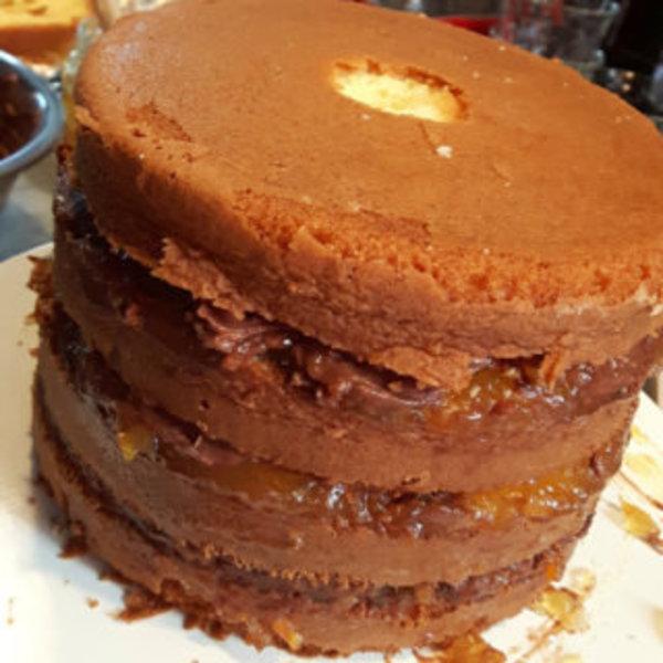 Weddingcake pour weddingday !- Montage du gâteau