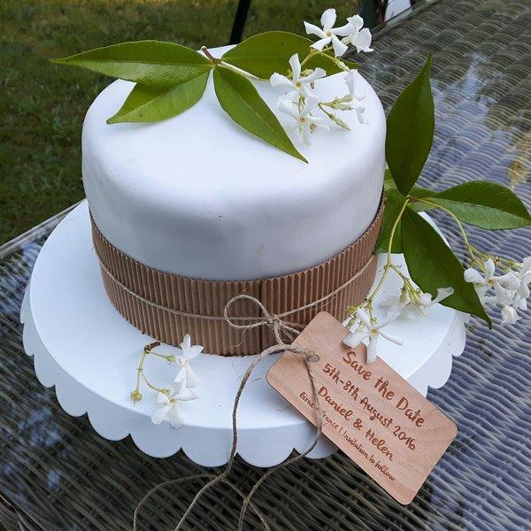 Weddingcake pour weddingday !- Décoration et finition