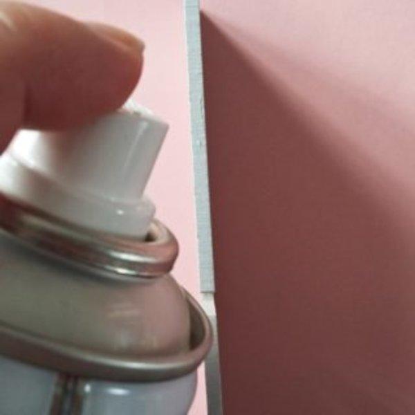 Une boîte à thé colorée- Pose de l'apprêt