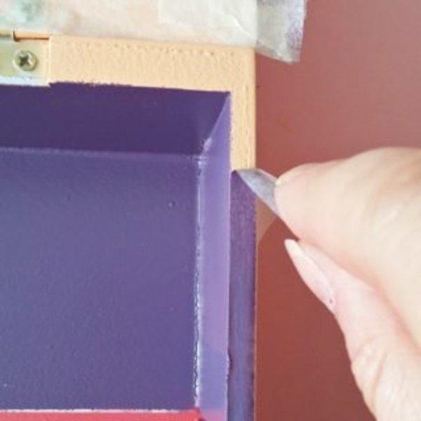 Une boîte à thé colorée- Vernissage