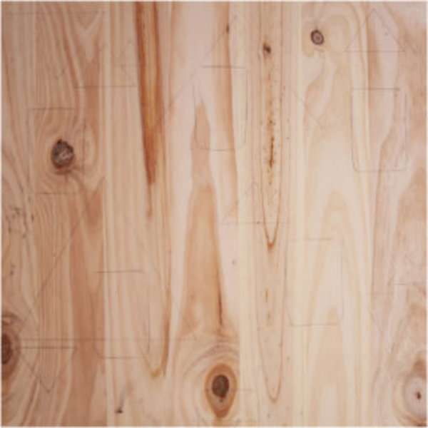 DIY couleurs et senteurs : un mur de plantes aromatiques- Préparer le panneau en bois