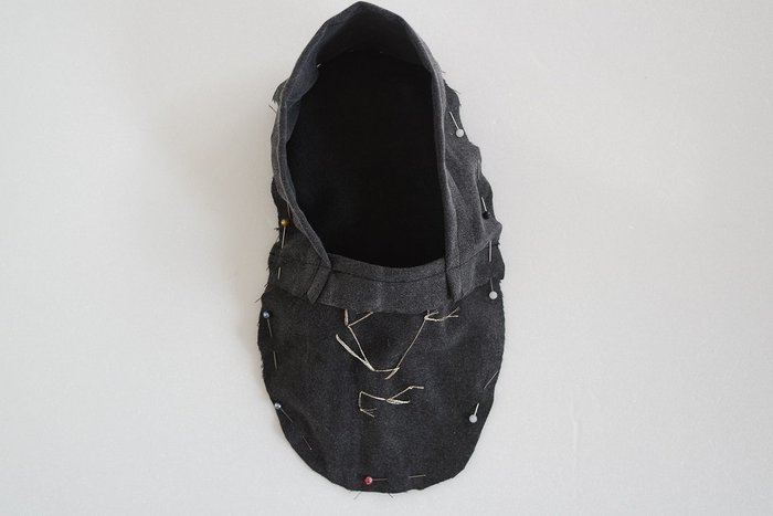 Chaussons 100% homemade- Montage des pantoufles