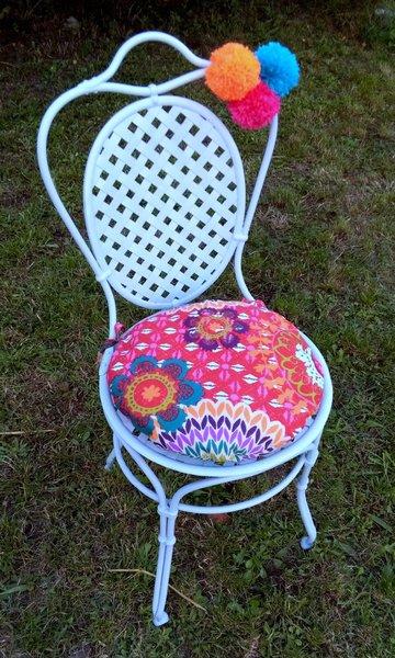 Relooker des chaises en métal- RELOOKING DE LA PREMIERE CHAISE