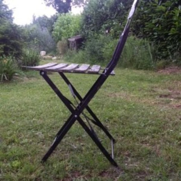 Relooker des chaises en métal- RESULTAT FINAL