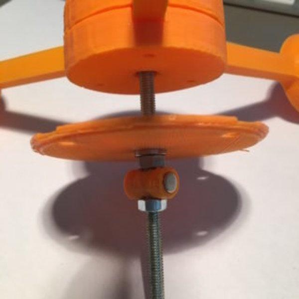 Anémomètre et girouette connectés- Assemblage