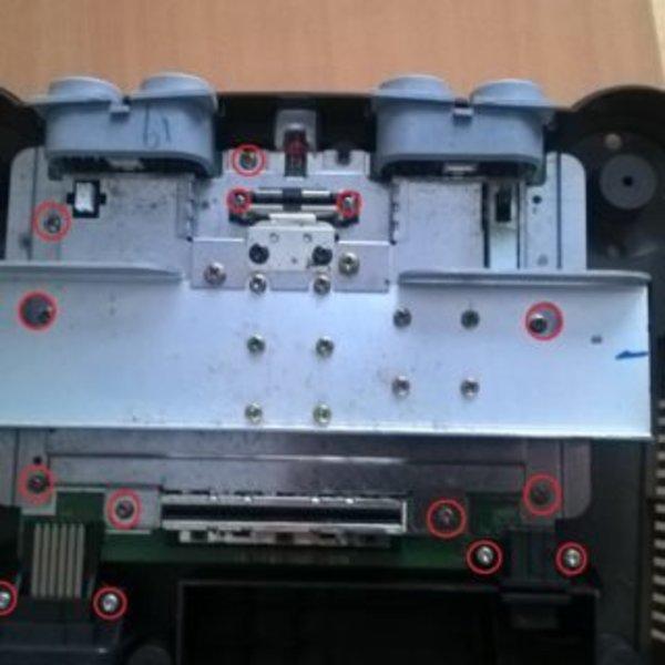 Customisation N64 avec led- Démontage de la N64