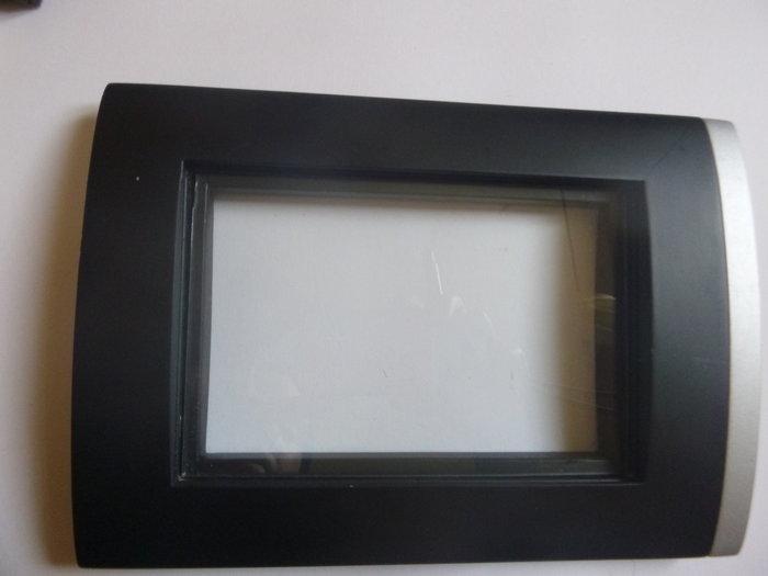 Cadre de déco à partir d'un rideau pare-soleil et d'un cadre photo- Préparer la taille de la broderie
