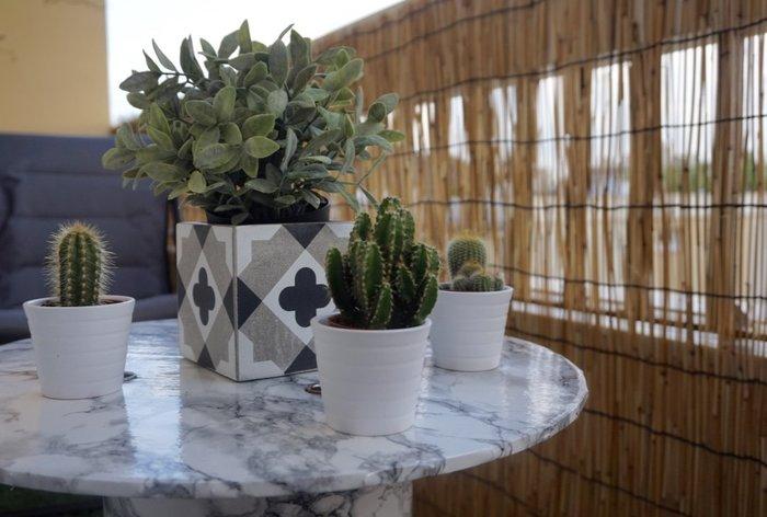 DIY : Upcycler un touret en table tendance- Profitez