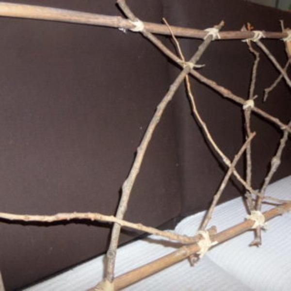 Cadre récup- L'interieur de la structure