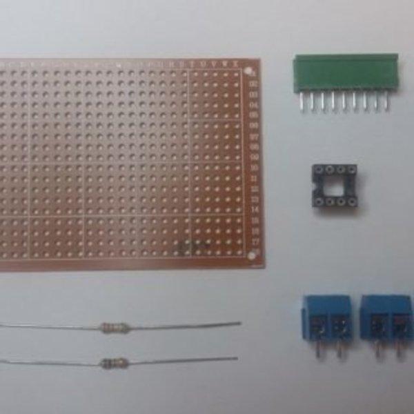 Thermostat connecté avec un smartphone recyclé- Réalisation de la carte électronique
