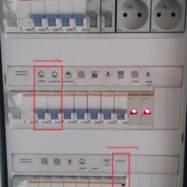 Thermostat connecté avec un smartphone recyclé- Installation