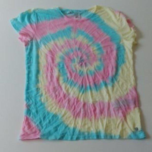 """Un t-shirt """"Tie & Dye"""" pour la plus belle des mamans- La coloration"""