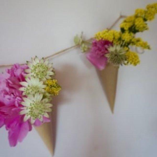 DIY : Une guirlande de fleurs pour les mamans qui déchirent !- Les petits détails qui font la différence