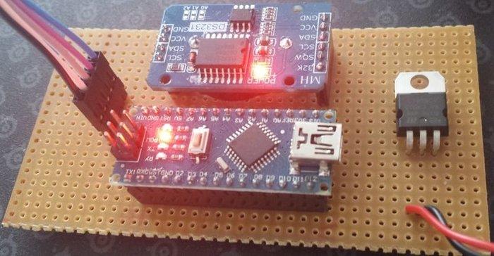 LedMatrix Clock – Horloge avec matrice de led- Montage éléctronique
