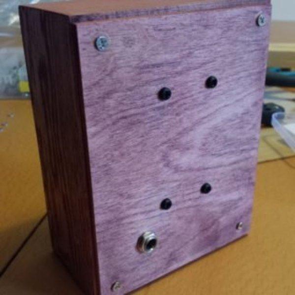 LedMatrix Clock – Horloge avec matrice de led- La boite