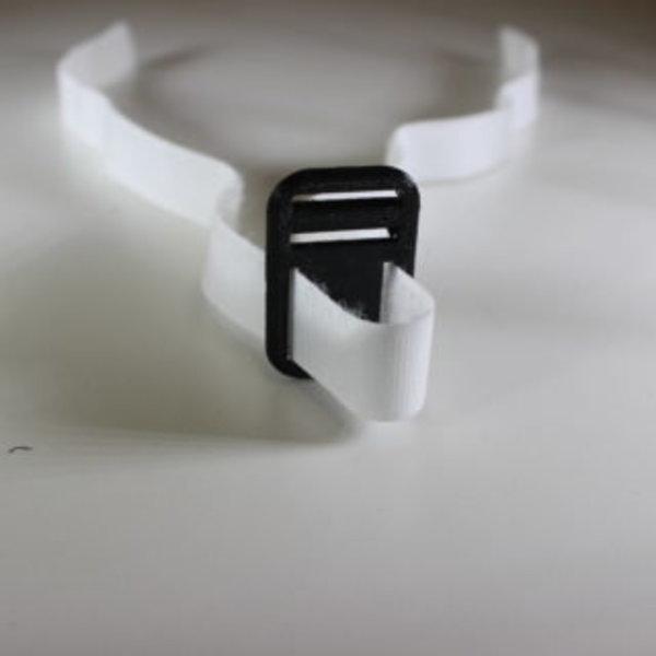 Lunettes de réalité virtuelle- Assemblage des deux bandes de velcro velours