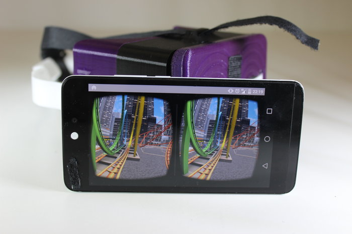 Lunettes de réalité virtuelle- Positionnement du téléphone