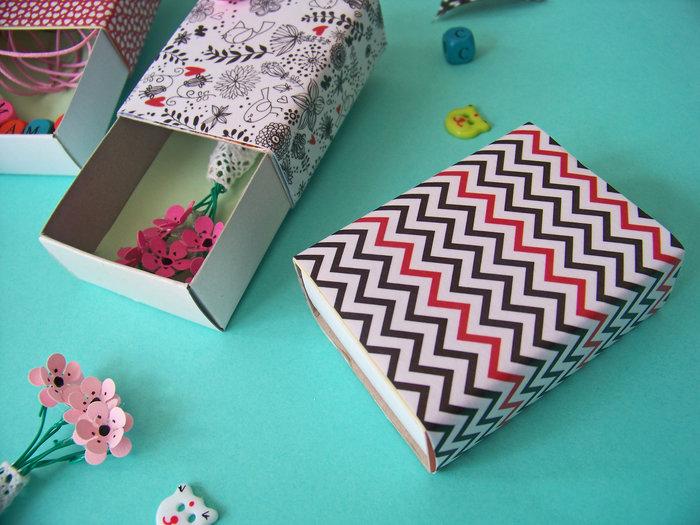 Mini boîtes pour petits cadeaux handmade- Mesurer ,couper
