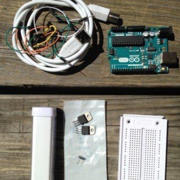 Moodybot, le robot qui interagit avec la lumière- Construction du châssis