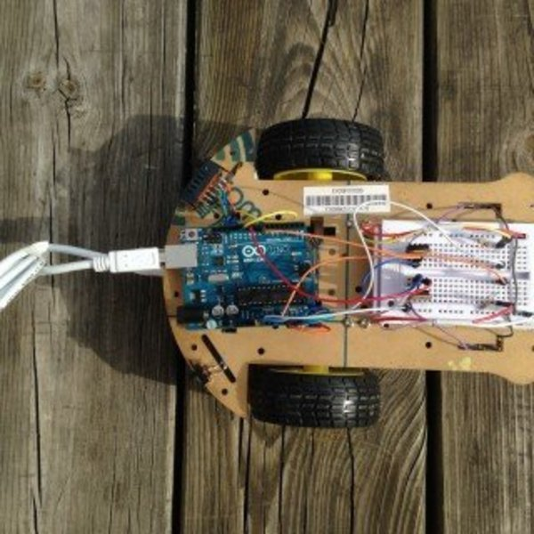 Moodybot, le robot qui interagit avec la lumière- Branchements du circuit électrique
