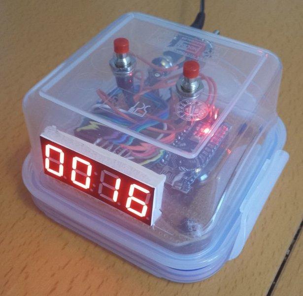 Chronometre de table- Le chrono terminé