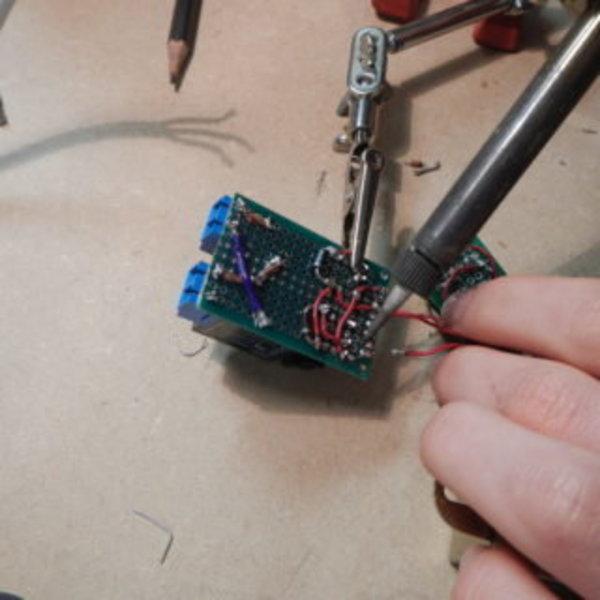 Relais Wi-fi avec ESP8266- Plaque principale