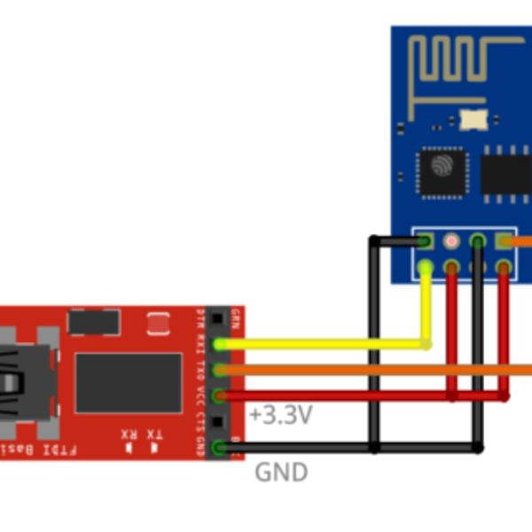Relais Wi-fi avec ESP8266- Programmer le module ESP8266