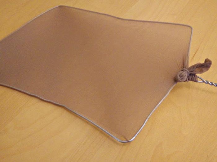 Du papier qui pousse- Fabriquez votre tamis