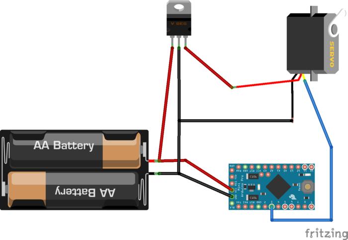 robot bipède- Electronique