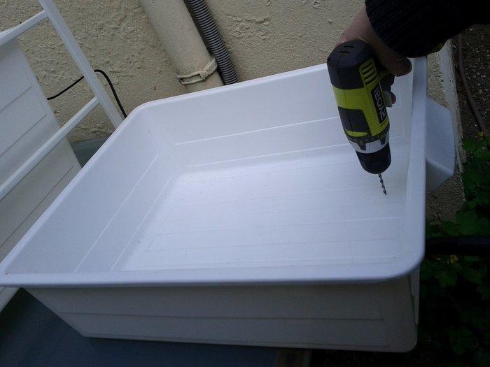 Aquaponie- Réaliser l'ensemble aquaponique