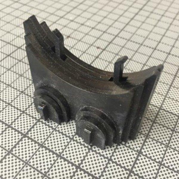 Monsieur Maker- Oreille gauche & Pied & Couvercle- découpe laser