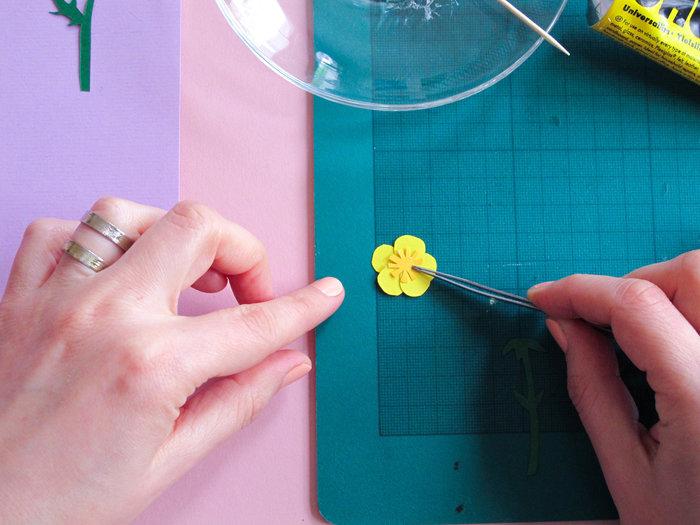 L'herbier en papier- Assemblez