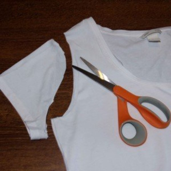 Un tee-shirt printanier !- Préparer le gabarit