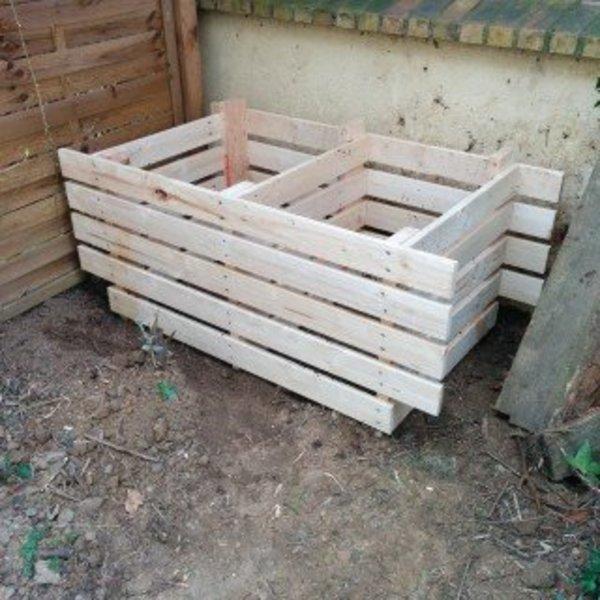 Petit bac à compost- Ancrage