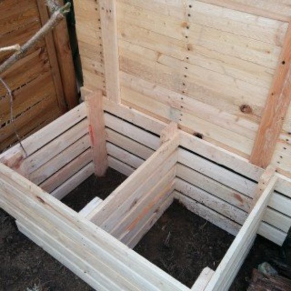 Petit bac à compost- Le couvercle