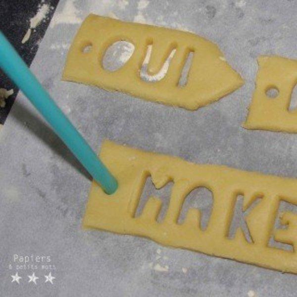 Une pause gourmande- Confectionner les sablés