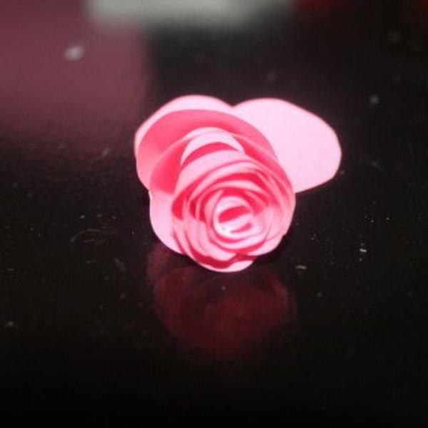 Lettre fleurie- Mise en forme