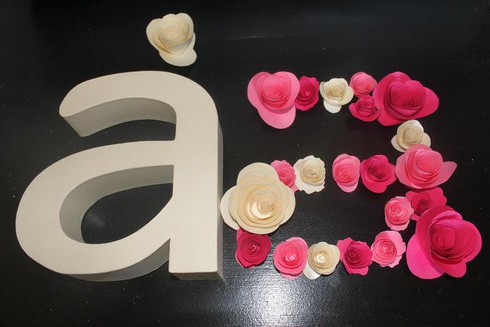 Lettre fleurie- Ultime étape