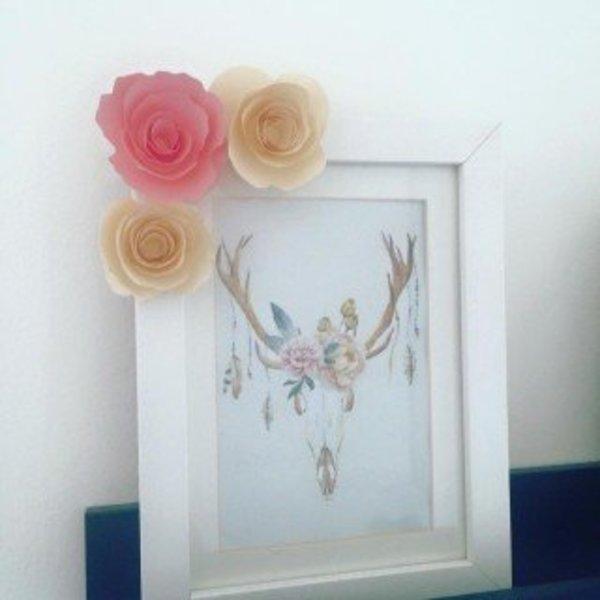 Lettre fleurie- Des fleurs partout