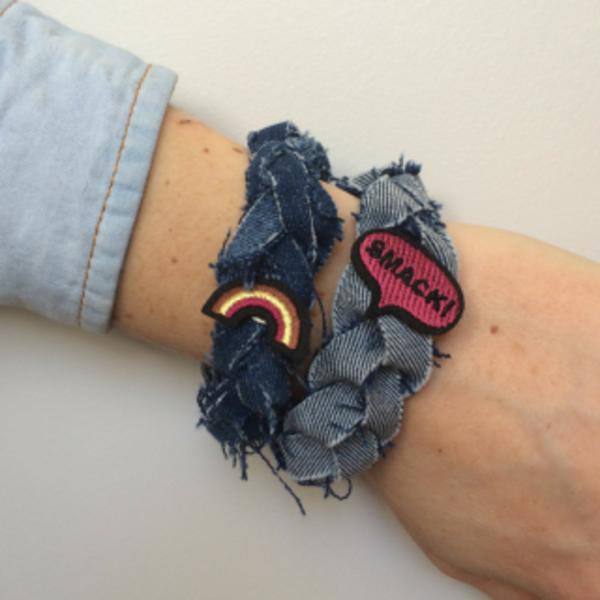 Diy bracelets POP- Varier vos patches-pins selon votre humeur!