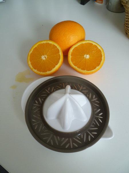 Fondant à l'orange- Les oranges