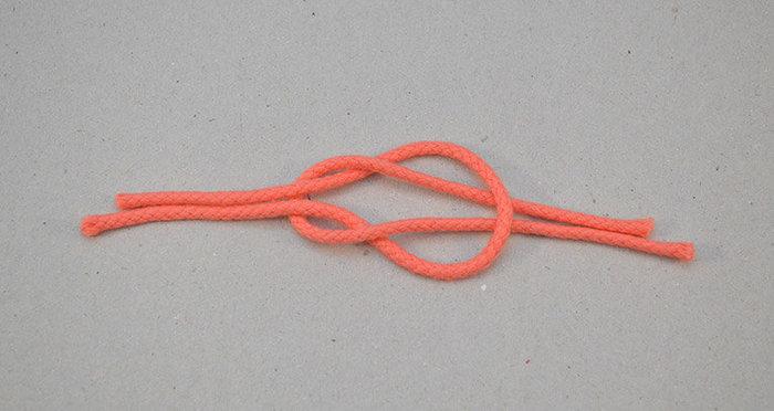 Bracelet d'été – ancre et noeud marin- Formez le noeud