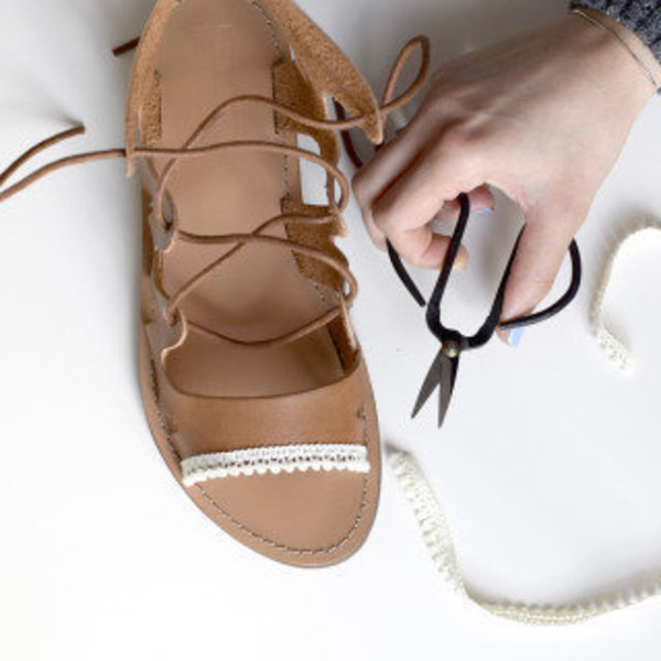 Chaussures boho- Les galons