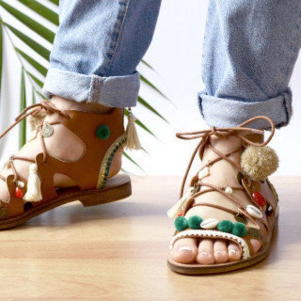Chaussures boho- C'est terminé !
