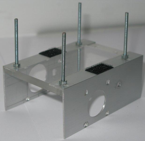 Robot mobile autonome- Partie mécanique 1 : le châssis