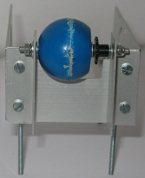 Robot mobile autonome- Partie mécanique 2 : La roue arrière