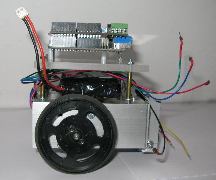 Robot mobile autonome- Partie mécanique 4 : dernières étapes